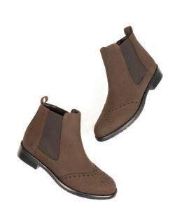 WILL'S Brogue Booties Scarpe Donna beatles elastico impermeabili scarpe vegane