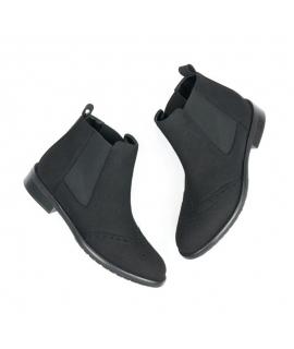 WILL'S Brogue Booties Chaussures Femme beatles élastiques imperméables chaussures végétaliennes