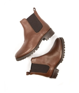 WILL'S Chelsea Bottes Chaussures Femme biopolioli beatles élastiques imperméables chaussures végétaliennes