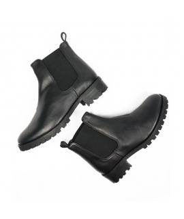 WILL'S Chelsea Boots Scarpe Donna biopolioli beatles elastico impermeabili scarpe vegane