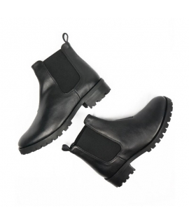 WILL'S Chelsea Boots Shoes Woman biopolioli beatles elastic waterproof vegan shoes