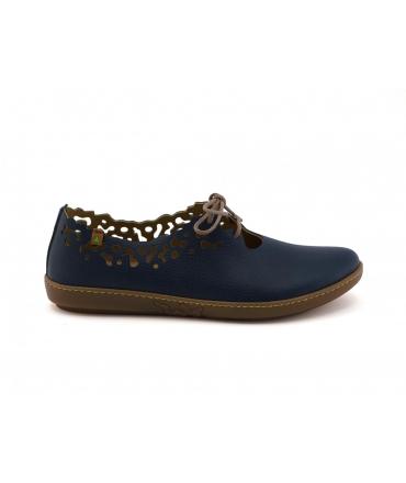 EL NATURALISTA Coral Zapatos de mujer cordones veganos confortables perforados