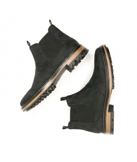 WILL'S Continental Chelsea Boots scarpe Donna beatles elastico impermeabili scarpe vegane