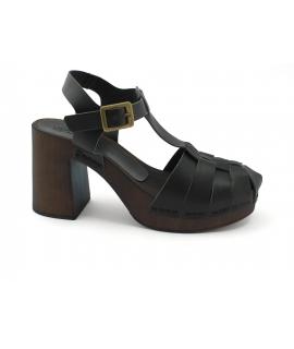 VSI KOS Femmes Chaussures Sandales Sabots Sabots à lanières entrelacées chaussures végétaliennes Fabriqué en Italie