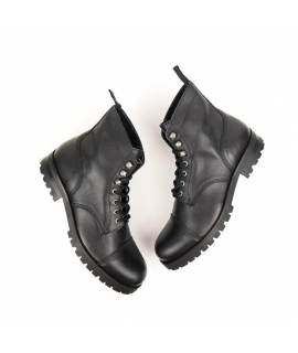 Bottes WILL'S Work Bottes femme Lacets imperméables Biopolioli