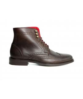 WILL'S Brogue Boots Schuhe Herren Stiefel Biopolioli wasserdichte Schnürsenkel vegane Schuhe