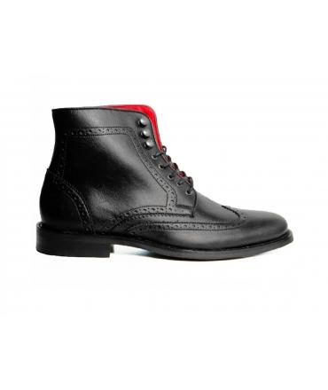 WILL'S Brogue Boots scarpe Uomo scarponcini Biopolioli lacci impermeabili scarpe vegane