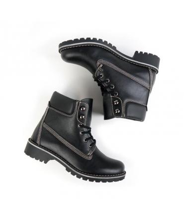 WILL'S Dock Boots scarpe Donna scarponcini lacci impermeabili scarpe vegane