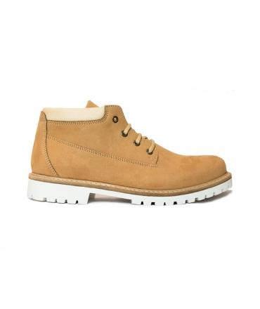WILL'S Ankle Dock Boots scarpe Uomo scarponcini lacci impermeabili scarpe vegane
