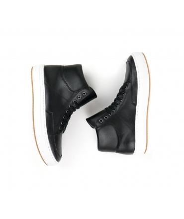 WILL'S Sneaker Boots scarpe Donna mid Biopolioli lacci impermeabili scarpe vegane