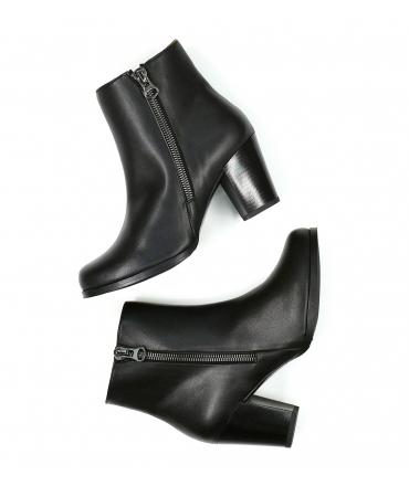 WILL'S Quarter Length Boots scarpe Donna Biopolioli zip tacco impermeabili scarpe vegane