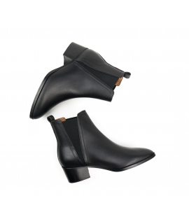 WILL'S Point Toe Chelsea Boots scarpe Donna Biopolioli tacco impermeabili scarpe vegane