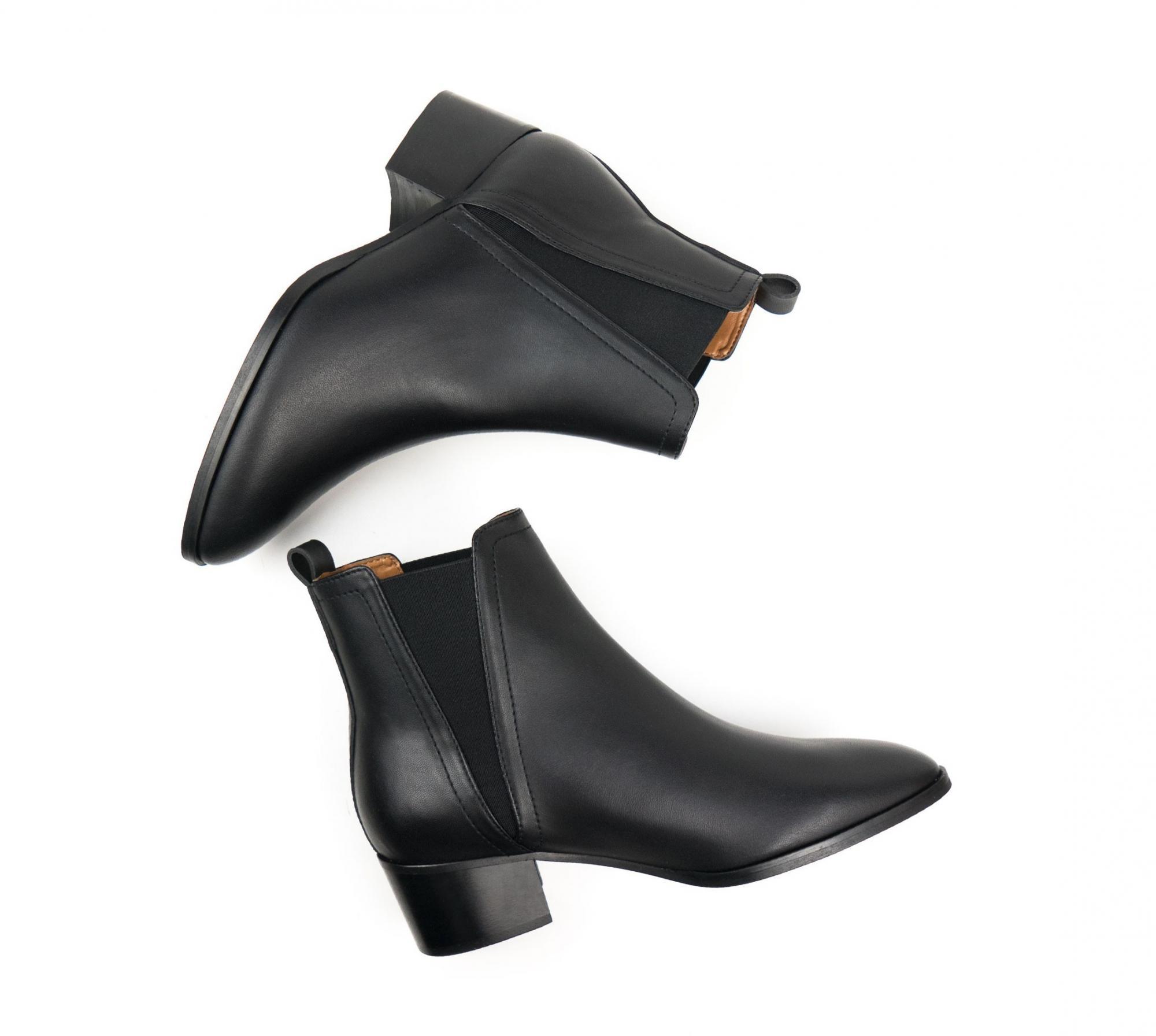 Tacco Point Toe Boots Will's Chelsea Donna Biopolioli Scarpe O0dnqw6