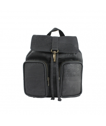 ARTELUSA Backpack Woman cork adjustable straps closure with vegan strings hook