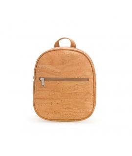 ARTELUSA Woman Cork backpack adjustable straps waterproof vegan zip closure