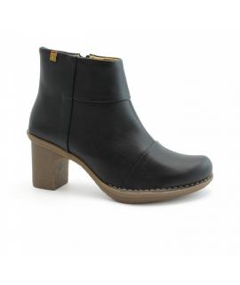 EL NATURALISTA Zapatos Dovela Mujer Botines con cremallera y tacón vegano