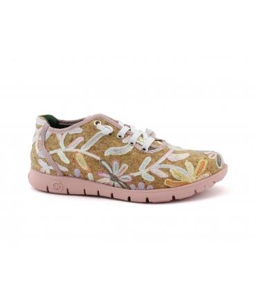 SLOWWALK Riven Scarpe Donna sneakers sughero lacci vegan shoes