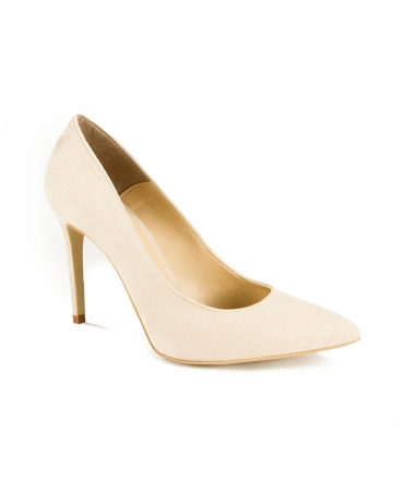 FERA LIBENS Clelia Women's Shoes Clelia Suede Microfibre Heel Made in Italy