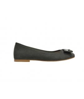 FERA LIBENS Calipso Chaussures Femme Ballerines Alcantara Fabriquées en Italie