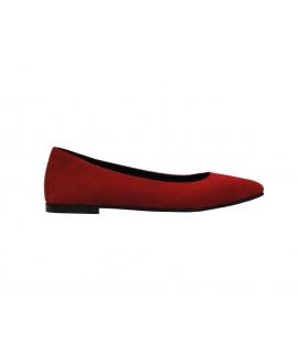 FERA LIBENS Maia Shoes Mujer Ballet flats Alcantara Made in Italy