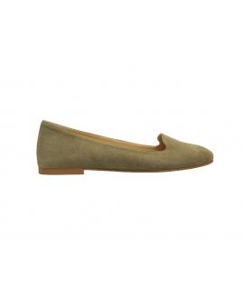 FERA LIBENS Vesta Damen Hausschuhe Alcantara Schuhe Made in Italy