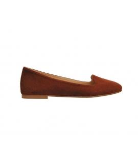 FERA LIBENS Vesta Femmes Chaussons Alcantara Chaussures Made in Italy