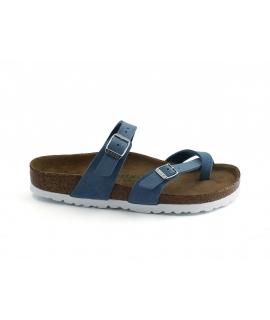 BIRKENSTOCK Mayari Hausschuhe Frau Flip Flops vegane Schnallen Schuhe