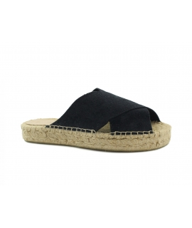 Women's shoes slippers PET recycled crossing jute vegan shoes