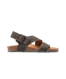 ZOURI Sea Femme Chaussures Sandales Chanvre naturel double bande vegan shoes