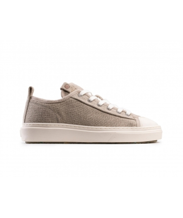 ZOURI Mahi Mahi Linen shoes Unisex sneakers laces vegan shoes