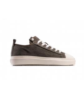ZOURI Pyropia Pinatex shoes Unisex sneakers mid laces waterproof vegan shoes