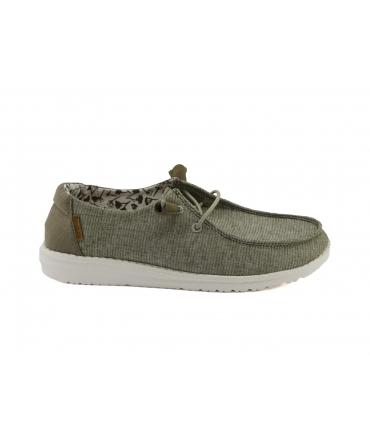 HEY DUDE WENDY Chambray Scarpe Donna sneakers estive traspiranti vegan shoes