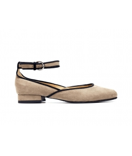 NAE Leen Schuhe Frau Ballerinas vegane Riemenschuhe