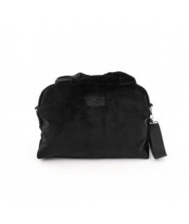 VSI VELVETM Woman bag velvet adjustable shoulder strap vegan zipper pockets