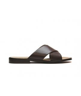 NAE Marco scarpe Uomo ciabatte fasce incrocio vegan shoes