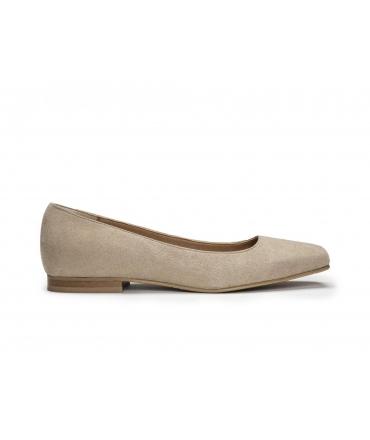 NAE Louise Ballerinas Woman zapatos veganos de punta cuadrada