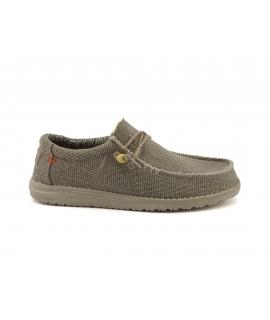 HEY DUDE WALLY Braided Scarpe Uomo sneakers lacci cotone bio estive traspiranti vegan shoes
