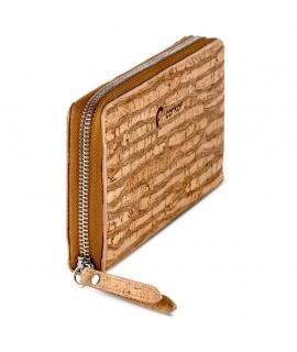930b5b43a3 CORKOR Women s wallet cork closure zip.