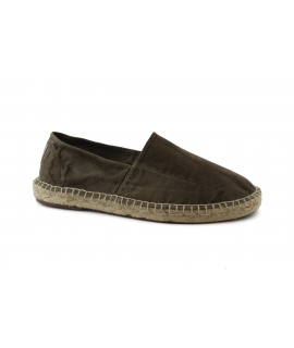 NATURAL WORLD scarpe Uomo Espadrlles Slip on Cotone Bio plantare estraibile vegan shoes