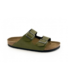 BIRKENSTOCK Arizona BL Pantoletten Man schnallt vegane Schuhe