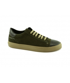 SCOTTI Boreca Waterproof Suede Laces Sneakers Made in Italy
