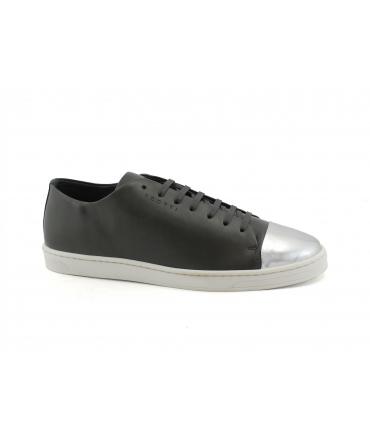 SCOTTI Dorba Sneakers Lacci Puntale a Specchio Made in Italy