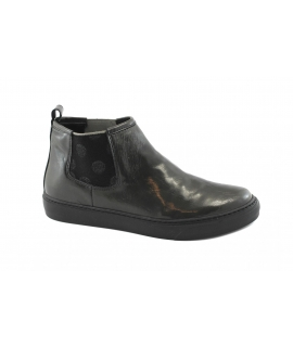 SCOTTI Moo Ankle Boot Woman Beatles Elastic Paint Made in Italy