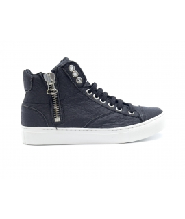 NAE Milan Piñatex scarpe Unisex sneakers mid lacci zip waterproof vegan shoes