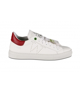 WOMSH Vegan Sustainable White Sneakers Scarpe Eco Made in Italy