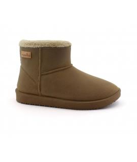 VEGAN BIO Snowdrop shoes Woman Ankle boot faux fur coat vegan shoes
