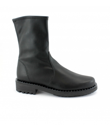 RAPISARDI MARIKA MA2302 shoes Woman tubular boots vegan shoes studs