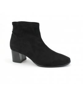 RAPISARDI MARIKA M804 Zapatos de mujer Botines tubulares tacón efecto vegano efecto nubuck