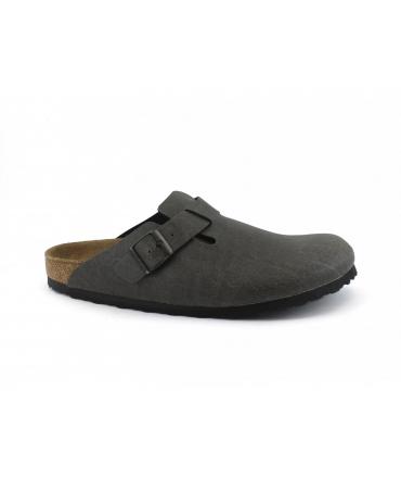 BIRKENSTOCK Boston BS mules zuecos Hombres hebilla zapatos veganos