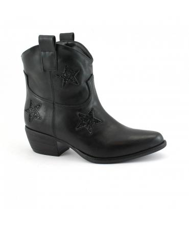 VSI Scarpe Donna Stivaletti texano tacco vegan shoes Made in Italy